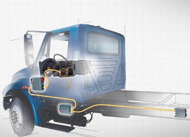 International's Diamond Logic electrical system. Photo: International Trucks