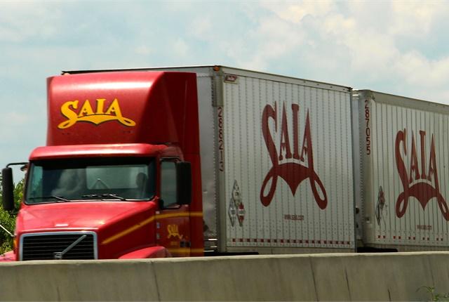 Saia said it was encouraged by shipment and tonnage per workday trends in the fourth quarter. Photo: Evan Lockridge