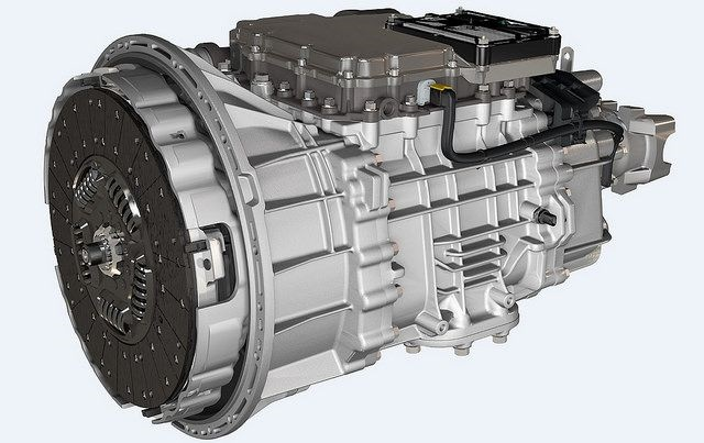 Eaton's Endurant 12-speed automated transmission. Photo: Eaton