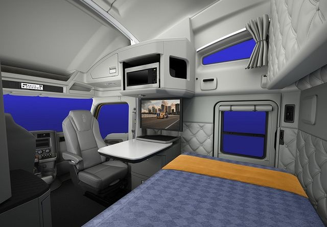 Kenworth Adds In Cab Satellite Tv Package For T680 Sleeper
