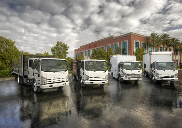 Isuzu Commerical Truck of America and Telogis have entered into an exclusive collaboration to develop connected vehicle products and services. Photo: Isuzu