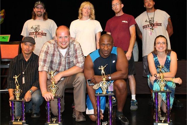 "Eleven professional truck drivers competed for the title ""Fittest of the Fleet"" during Prime Inc.'s annual company picnic on Aug. 31."
