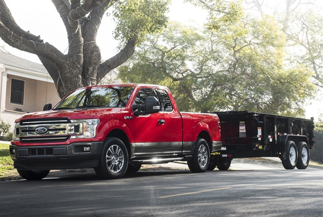 Photo of diesel-powered 2018 F-150 courtesy of Ford.