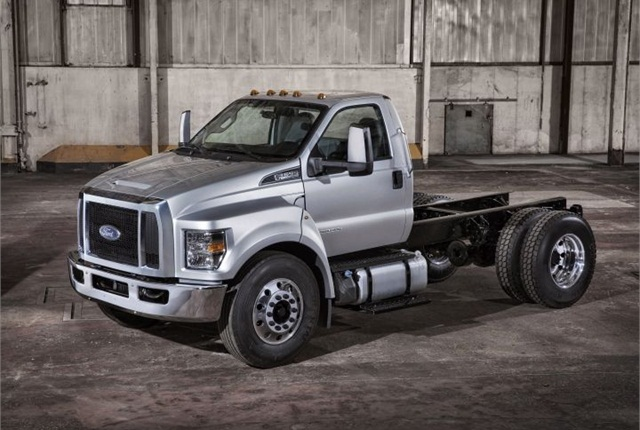 Photo of 2016 Ford F-650 courtesy of Ford.
