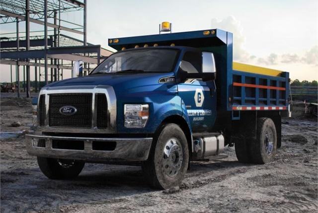 2017 F-650 dump truck Photo: Ford