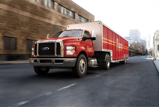 Ford to Move Production of 2016 F-650/F-750 Medium-Duty Trucks to Ohio