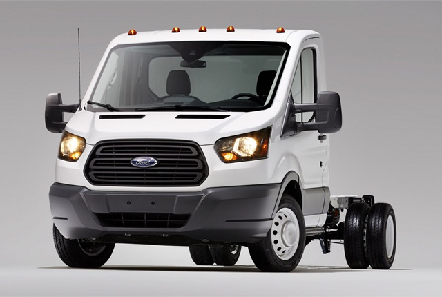 Cab-chassis and cutaway versions of the upcoming Transit full-size van will replace the E-series cutaway. E-series vans will continue in production for much of this decade.