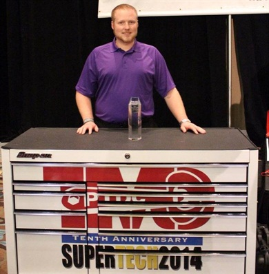 TMC SuperTech Champion Mark McLean: Photo via ATA.