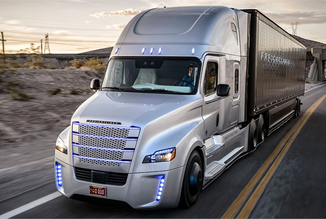 Daimler Trucks North America was one of 34 leading automotive companies that helped CTA compile its list of new technology terms.Photo: Freightliner