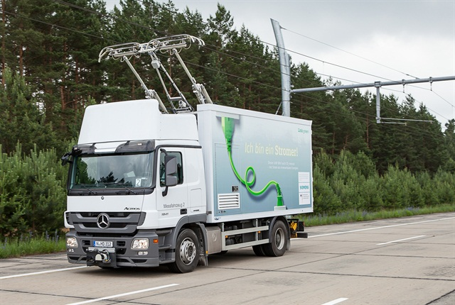 Will overhead catenary lines fuel electric/hybrid truck growth in some specialized applications?