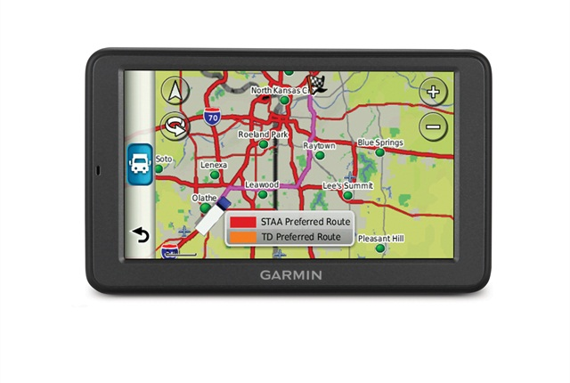 Many bridge strikes have been caused by commercial drivers using passenger-car GPS units instead of truck-specific ones like this one.