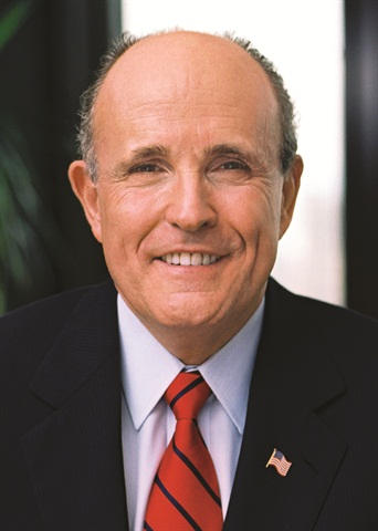 Former N.Y. City mayor, Rudy Giuliani.