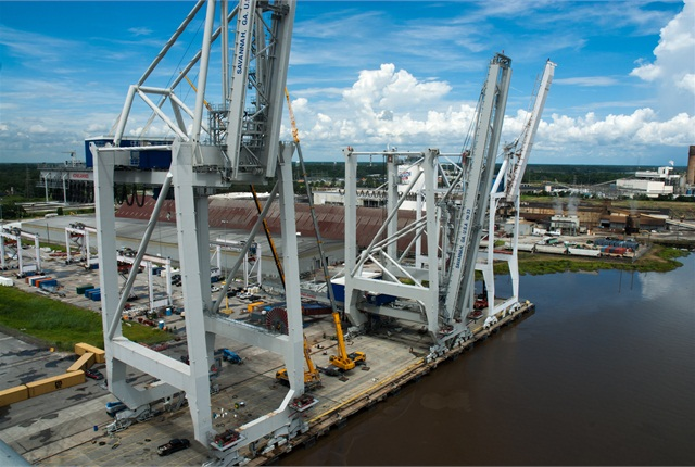 Photo: Courtesy of Georgia Ports Authority