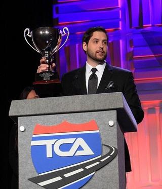 Grimaldi at the TCA Annual Convention Photo: TCA