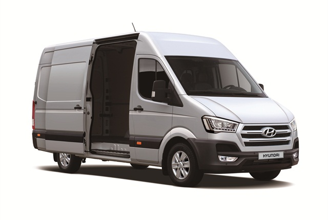 Hyundai is targeting the European market with the new H350. Photo courtesy Hyundai Motor.