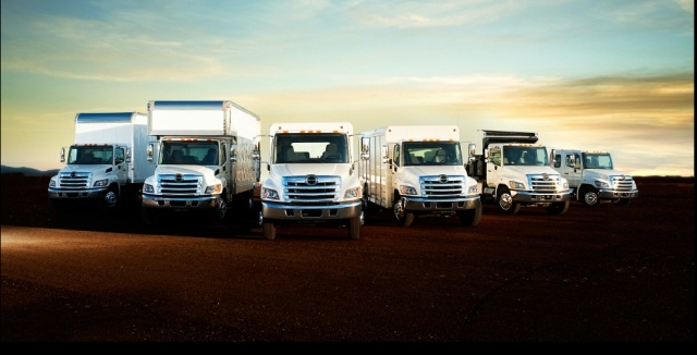 Hino Trucks vocational truck lineup. (Photo: Hino Trucks)