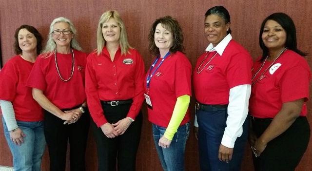 Last year's Women In Trucking Image Team. Photo: WIT