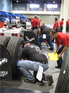 The manuals guide technicians toward compliance with CSA standards and help them participate in TMC's SuperTech competition, held during the group's fall meeting. Photo: Tom Berg