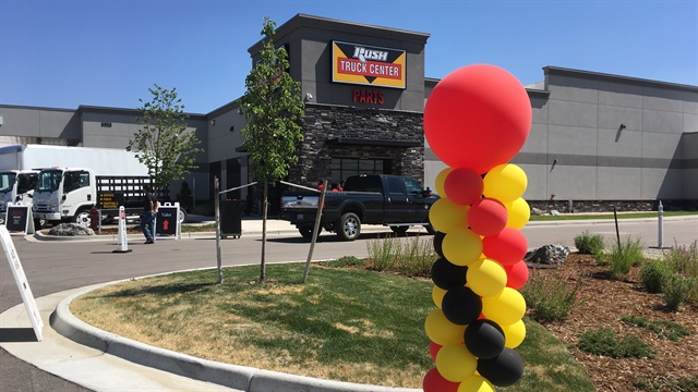 Rush Truck Centers' new Denver facilities expand the dealer network to 108 stores in 21 states. Photo: Jim Park