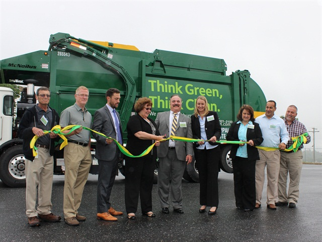 Waste Management Adds CNG Trucks, Fueling Station in Pa.