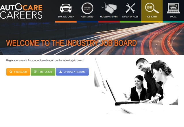 Screenshot via AutoCareCareers.org