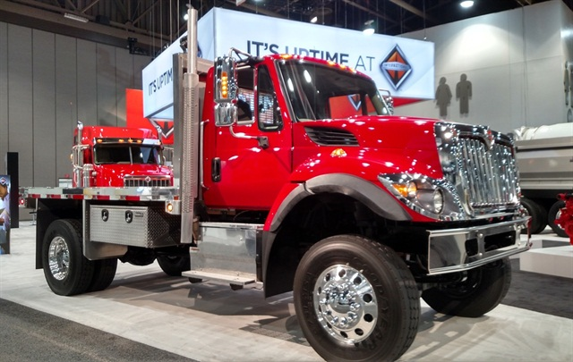 International Workstar 4x4 with Cummins ISB6.7. Photo: Tom Berg