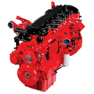 For on-highway markets, the G Series Heavy-Duty engine platform will be introduced as the Cummins ISG11 and Cummins ISG12 (shown here).