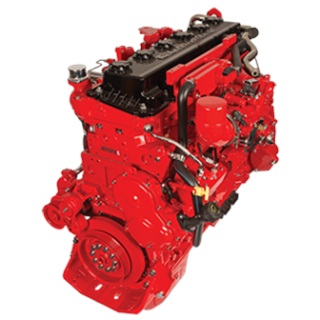 The Cummins Westport ISX12 G natural gas engine. Photo: Westport