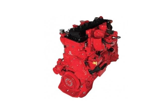 ISX12N Natural Gas Engine Photo: Cummins Westport