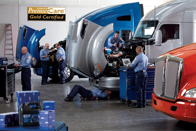 Truck problems will be diagnosed within two hours of arriving at a PremierCare Gold dealer, KW pledges.