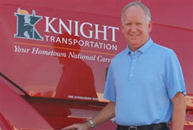 Knight's non-asset service offerings saw revenue growth of 64%, says Kevin Knight, chairman and CEO.