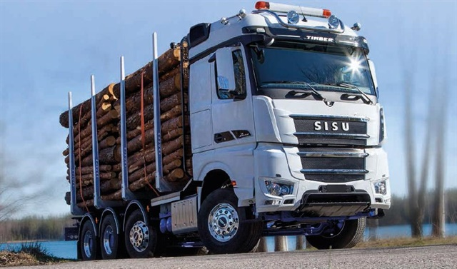 The new hybrid-electric drive system is designed to work with Mercedes Benz diesel-powered Sisu Polar truck models. Photo: Sisu Auto