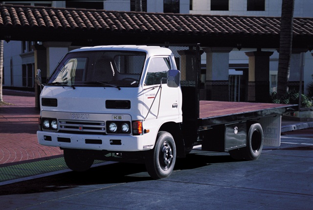 The restored Isuzu will be higlighted at the dealer meeting.