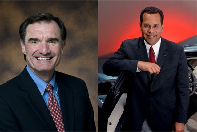 Mark Smith (left) from the U.S. Department of Energy's Clean Cities and John Viera from Ford Motor Co. will deliver the keynote addresses at his year's Green Fleet Conference.