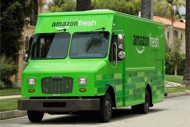 Amazon's entry into last-mile delivery markets could be a game-changer for trucking. Photo: Amazon
