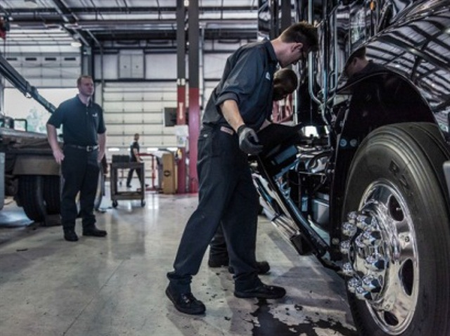The inaugural Mack Masters Competition will challenge teams of service and parts personnel throughout Mack Trucks' North American dealer network to demonstrate their superior knowledge, skills and teamwork: Photo via Mack Trucks.