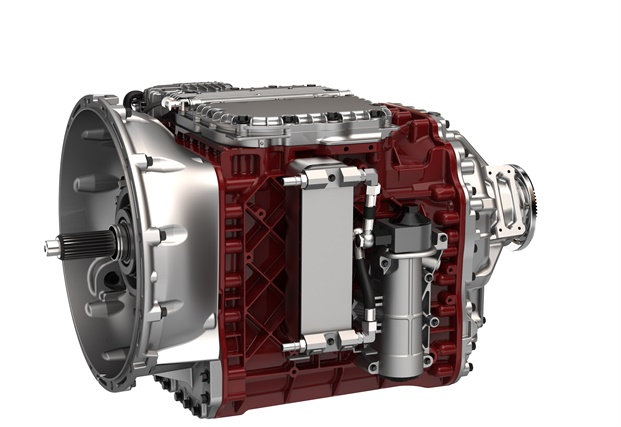 Mack Trucks' Super Econodyne Direct is a new fuel-saving option that combines Mack's Super Econodyne rating with a direct drive version of the Mack mDrive automated manual transmission to boost fuel efficiency. Photo: Mack Trucks