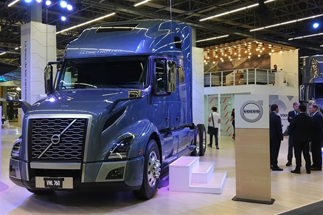 Volvo Trucks debuted the new VNL for the Mexican market. Photo: Jim Park