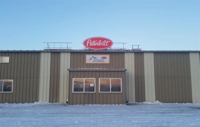 The Sidney parts-only location of Montana Peterbilt: Photo via Montana Peterbilt.