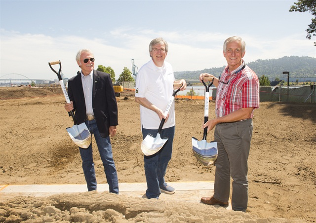 DTNA Breaks Ground on New Headquarters