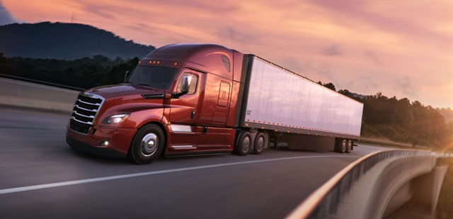 Unlike previous emissions regulations that actually cut fuel economy, new GHG regs are making trucks more fuel efficient than ever. Photo: Daimler Trucks North America