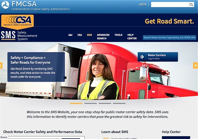 Industry pushes to hide csa data from public fmcsa for Us department of transportation federal motor carrier safety administration