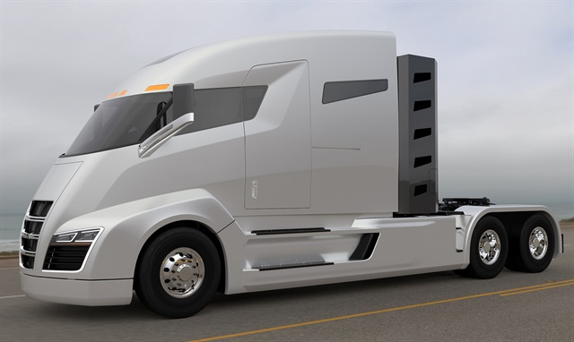 The Nikola One concept truck Image: Nikola Motors