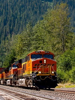 BNSF has made significant investments in its Northern Corridor route. Photo: BNSF