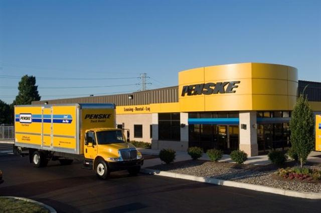 The new Norton, Mass. location of Penske Truck Leasing. Photo: Penske Truck Leasing