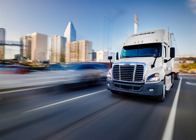 Language in a new House bill aims to prevent states from enacting their own meal and rest break rules for CDL drivers. Image: Penske Logistics