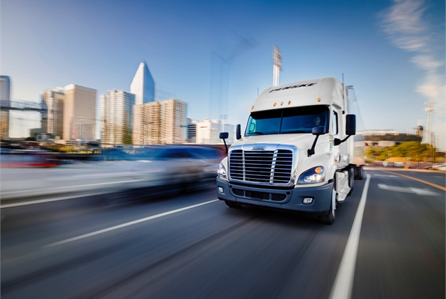 "SOL report sees truck drivers as  ""the limiting factor for the growth in trucking capacity."" Image: Penske Logistics"