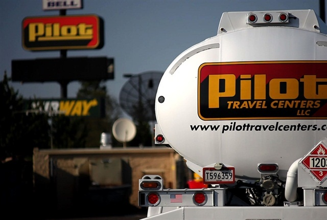 Pilot Flying J paid $85 million to settle with customers affected by a fuel rebate scandal and an additional $92 million in fines. Photo: TruckingInfo.com
