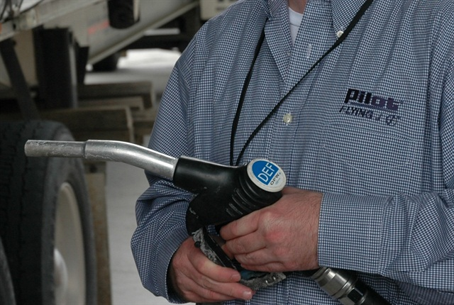 Pilot Flying J currently has diesel exhaust fluid at the pump at 3,407 lanes across 404 store locations.