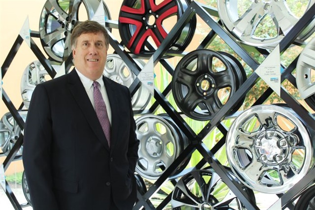 Donald Polk, president of Maxion Wheels, Americas Photo: Maxion Wheels